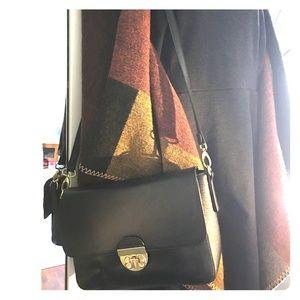 Emma Fox Genuine leather crossbody handbag